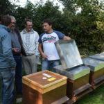 Visite du rucher de José Filgueira à Hermance/Genève