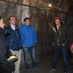 Visite à l'intérieur du barrage